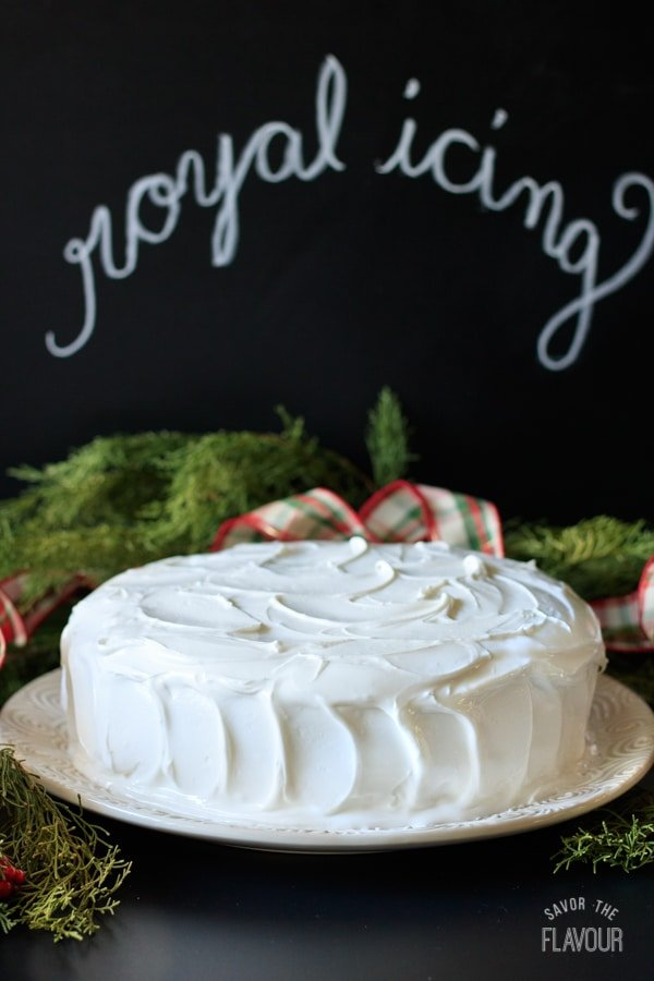 Christmas Cake Decorations With Royal Icing