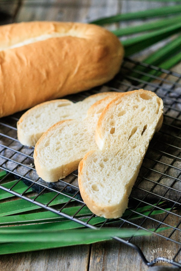 slices of Cuban bread