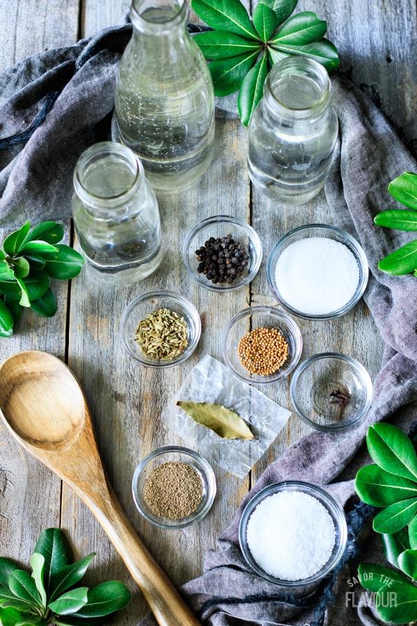 giardiniera brine ingredients