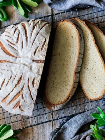 slices of white mountain bread with the loaf