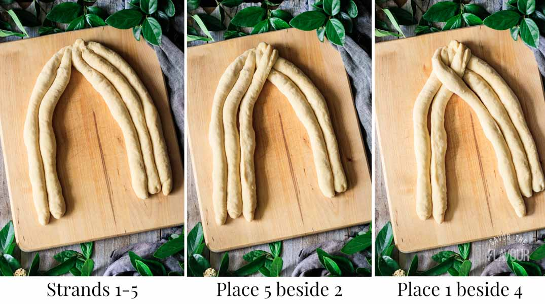 how to braid challah bread