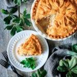 ham and potato pie