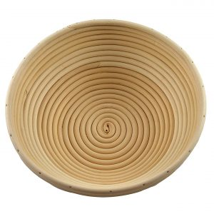 cane banneton basket for proving bread