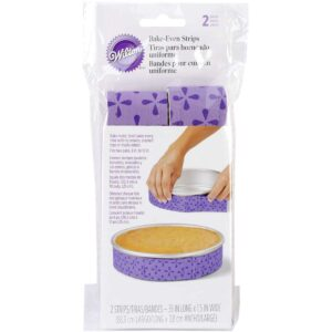 set of 2 fabric cake strips
