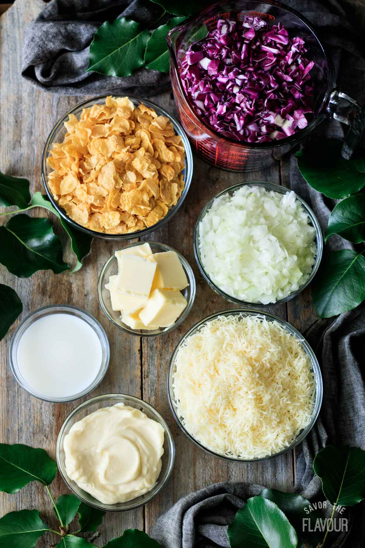 ingredients for cabbage casserole