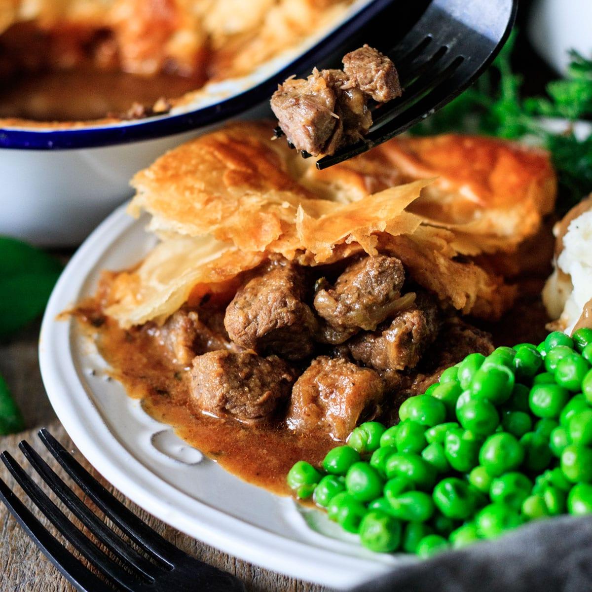 Scottish Steak Pie | Savor the Flavour